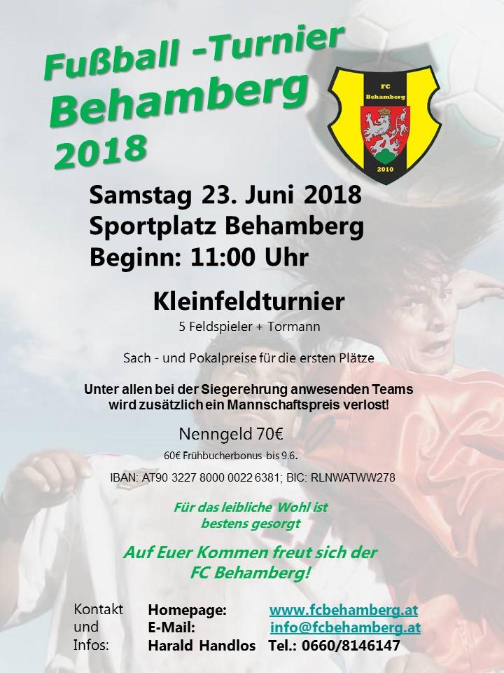 Kleinfeldturnier 2018